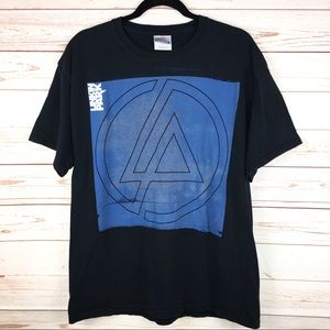 Linkin Park Band Album Graphic Shirt Black Sz L